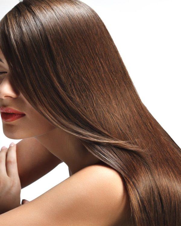 Лечение волос кератином